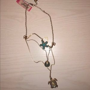 """Betsey Johnson """"Under the Sea"""" Layered Necklace"""